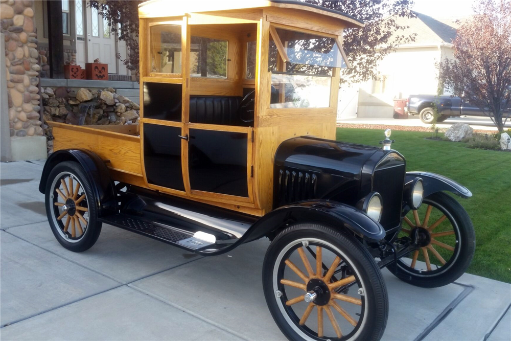 Available* at Las Vegas 2016 - Lot #20 1920 FORD MODEL T PICKUP ...