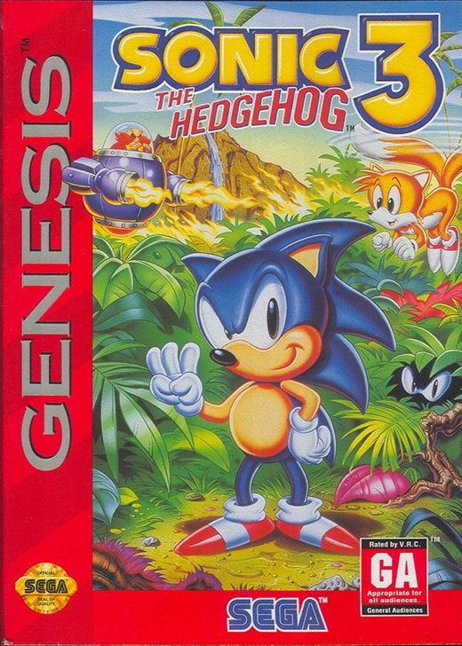 Play Sonic The Hedgehog 3 Online Free Sega Genesis Mega