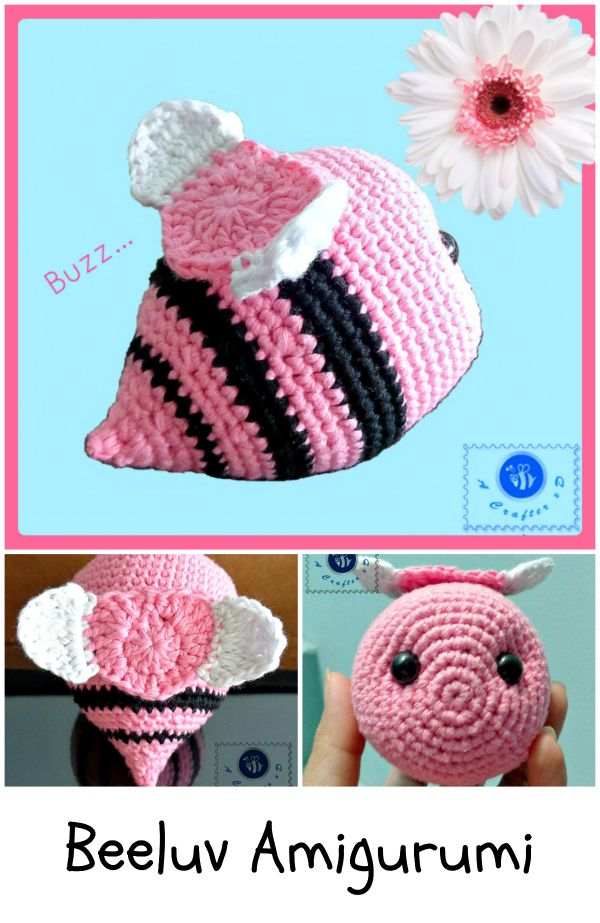 crochet bee free pattern | Amigurumi | Pinterest | Ganchillo ...