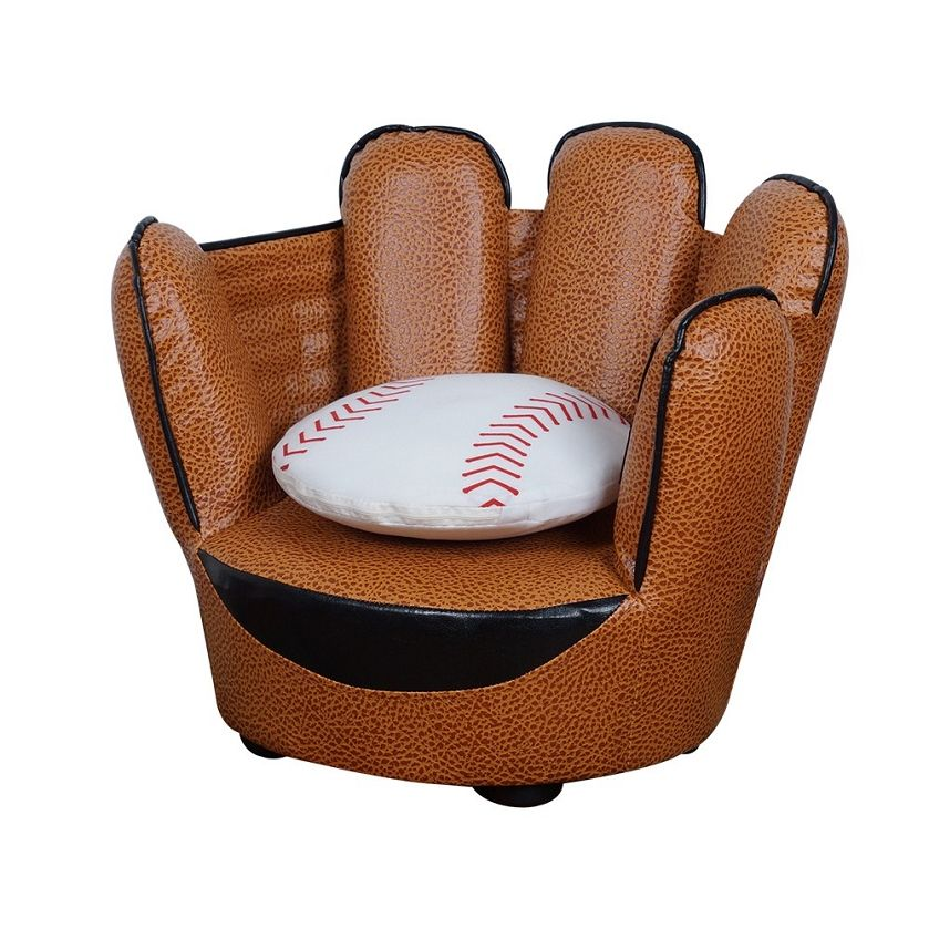 Marvelous Baseball Glove Chair U0026 Pillow Set