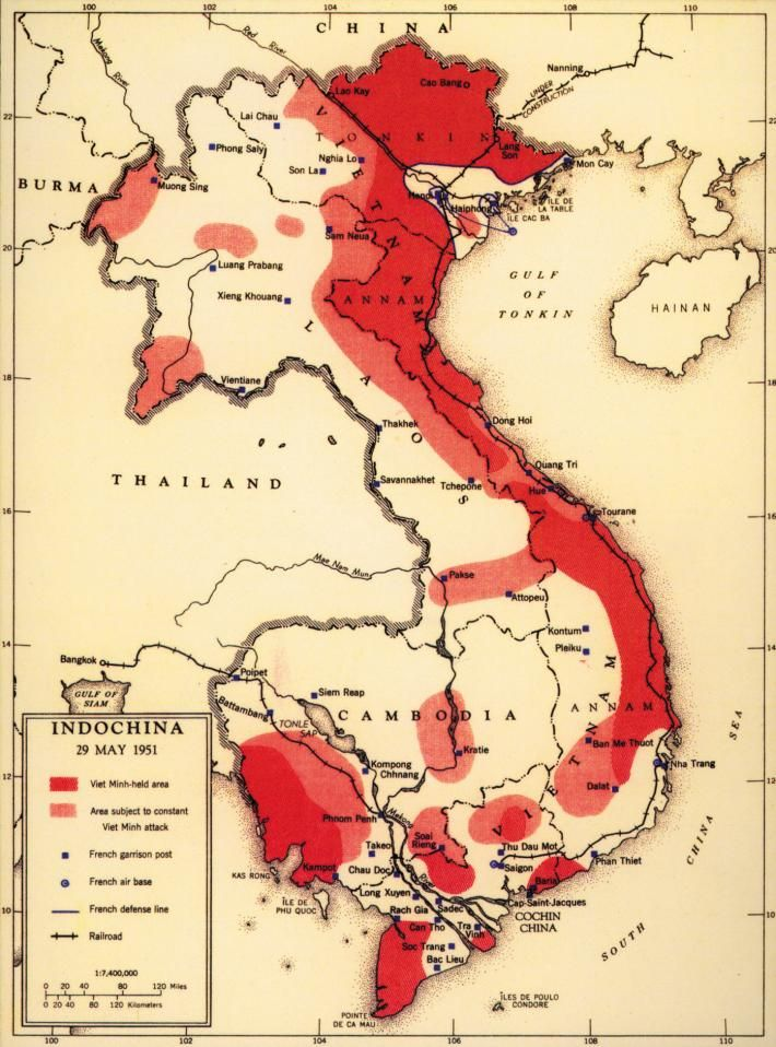 Map Of Asia Vietnam War.See The Historic Maps Declassified By The Cia Blast From