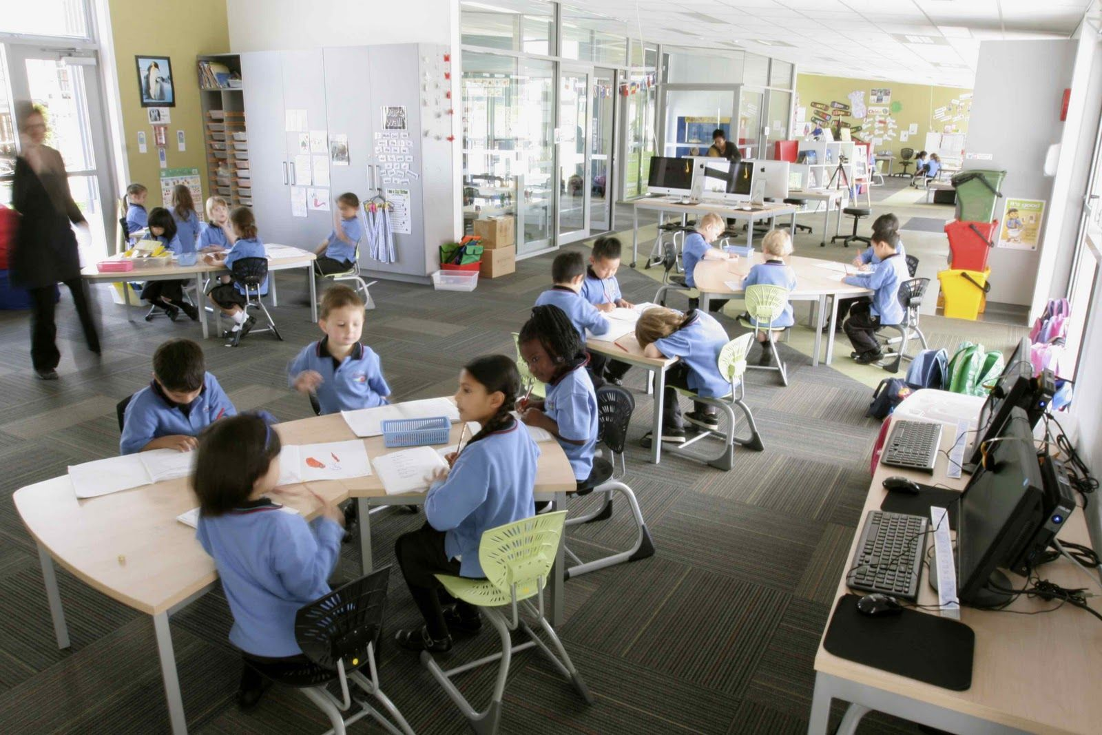 Modern Classroom Teacher : Open learning spaces collaborative teaching what might