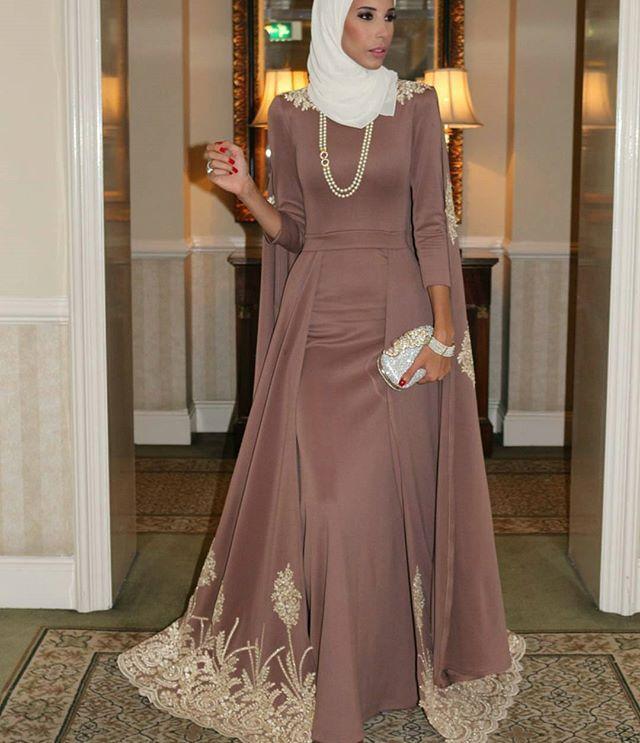 Robe de soiree islam