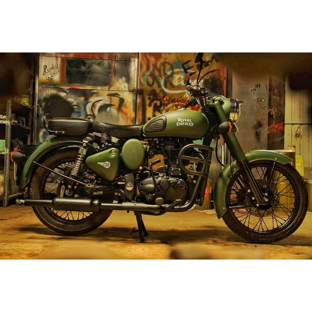 This Royalenfield Classic 350 Army Green Limited Edition Variant