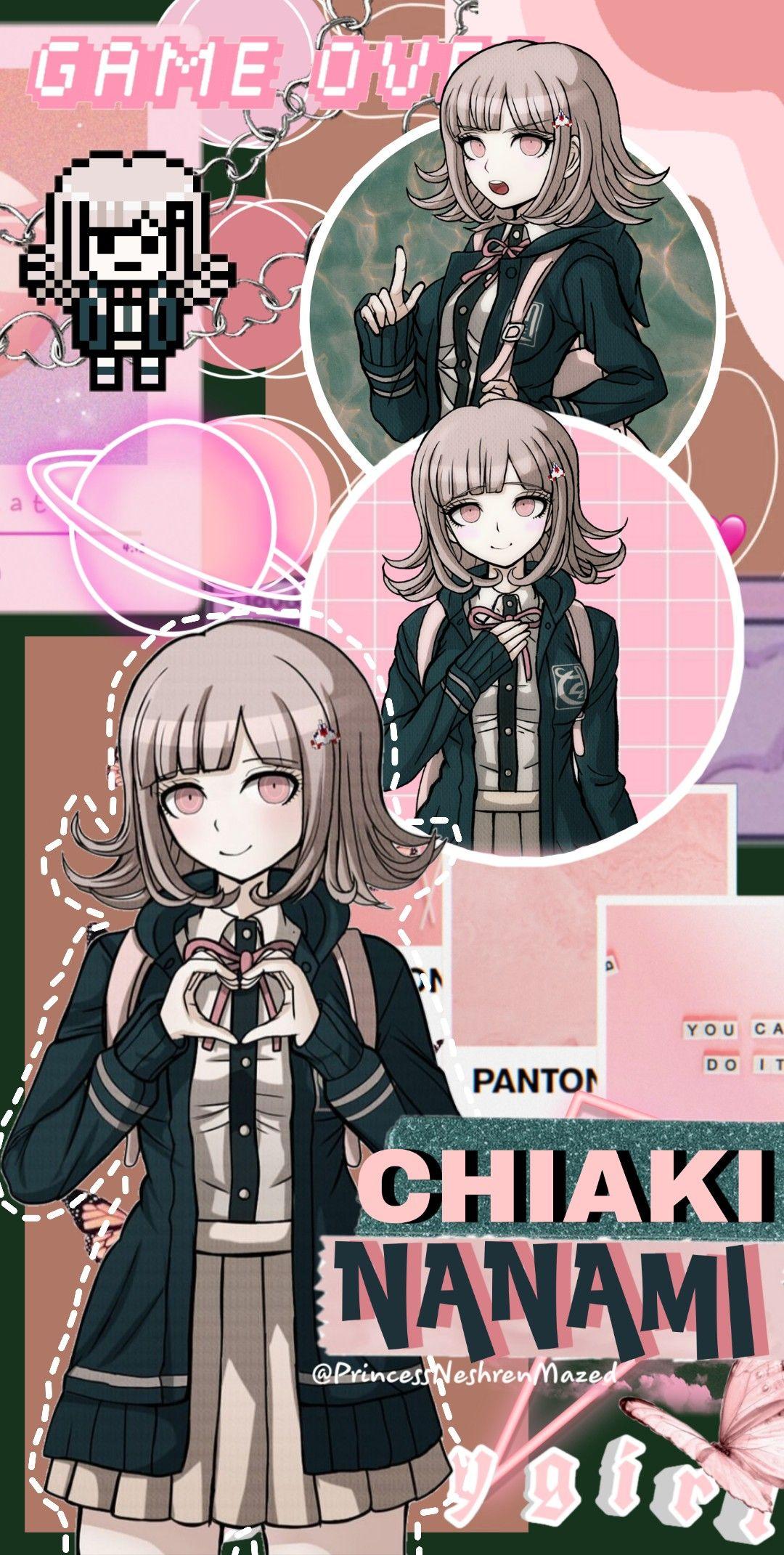 Chiaki Nanami Wallpaper Danganronpa Junko Nanami Nanami Chiaki