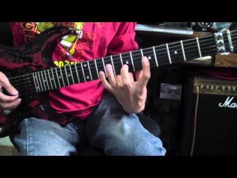 Lecciones De Guitarra Electrica - Ejercicios De Legato (Richie Kotzen) - YouTube