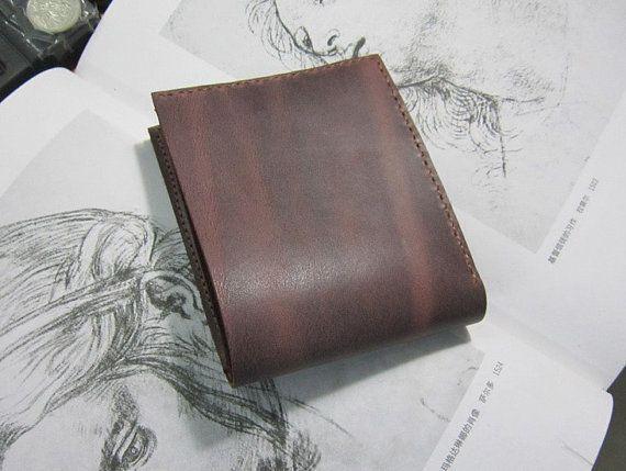 Handmade crazy horse/leather men's  wallet /men's wallet/leather wallet men/men's wallets/mens wallets