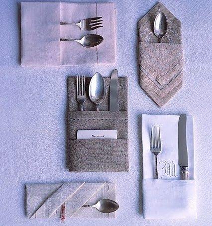 Napkin Folding | Crafty DIY Projects | Pinterest | Napkins, Table ...