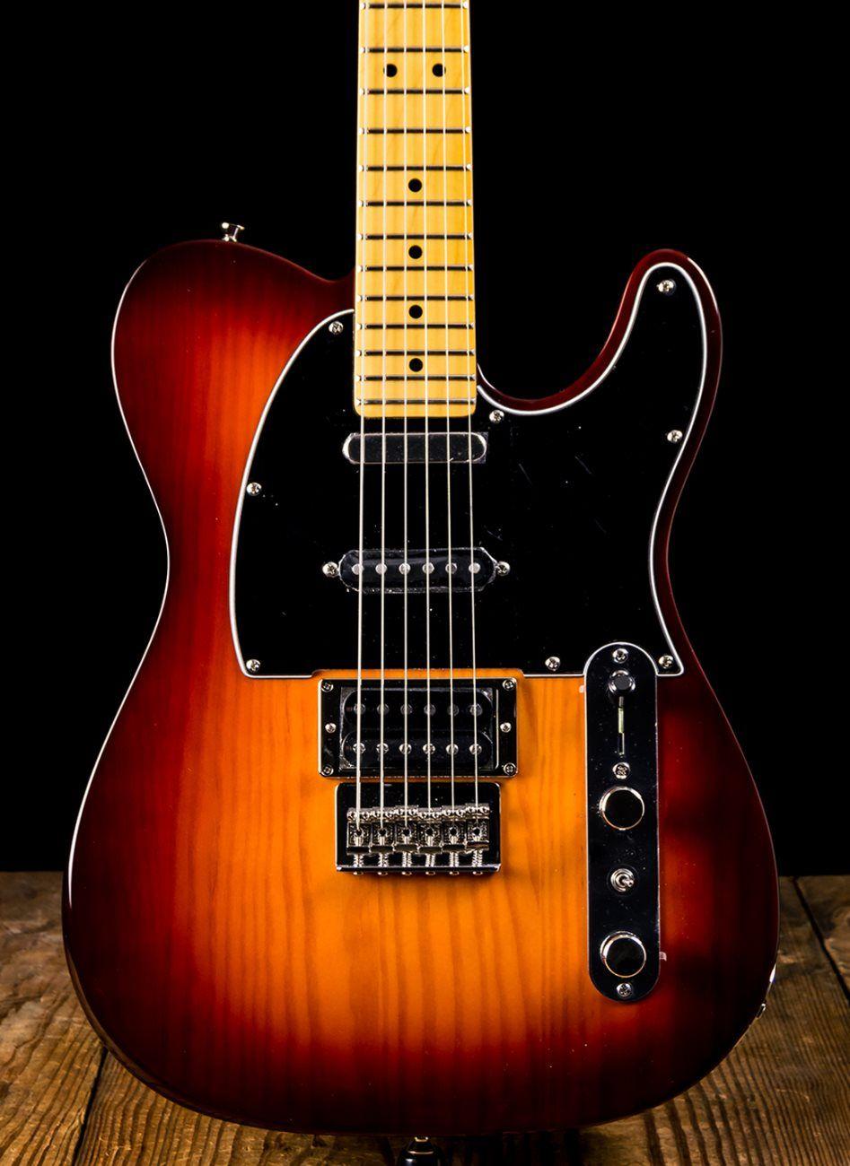 Fender Modern Player Telecaster Plus Honey Burst Telecaster Suhr Fender Guitars