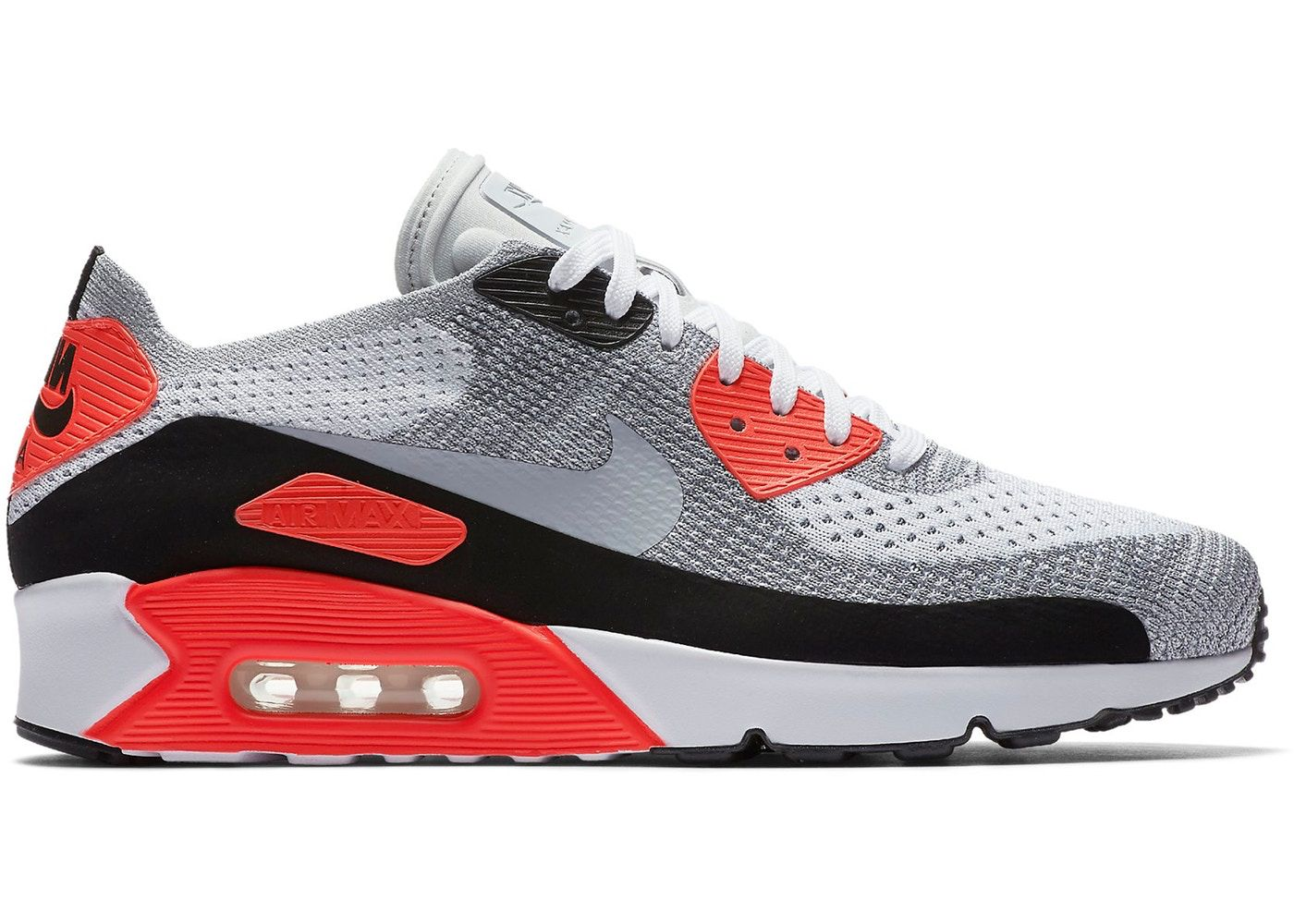 fa5c375d Check out the Air Max 90 Ultra Flyknit 2.0 Infrared available on StockX