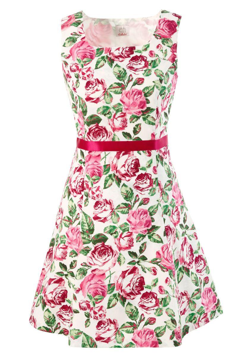 Trachtenkleid mit Rosendruck im Online Shop von Ackermann