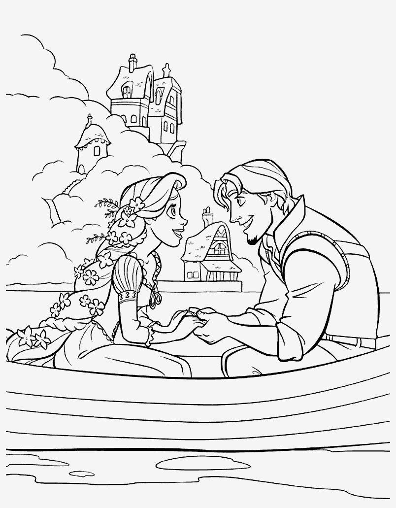 Rapunzel Neu Verfohnt Malvorlagen Seni Gambar
