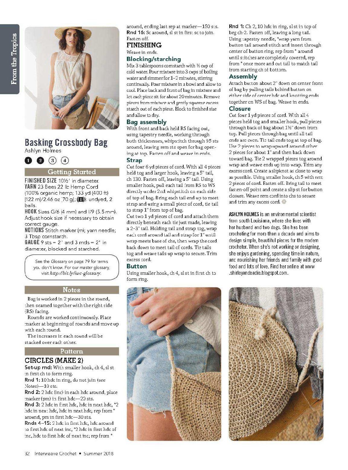 Мобильный LiveInternet Interweave Crochet Summer 2018
