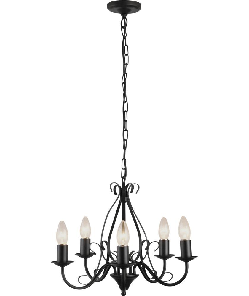 Buy Heart Of House Forbes 5 Light Ceiling Fitting