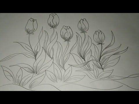 21 Gambar Batik Bunga Tulip Galeri Bunga Hd Di 2020 Bunga Bunga Sakura Bunga Tulip
