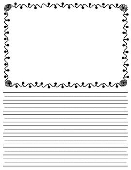 Free Lined Writing Paper  Free Lined Writing Paper