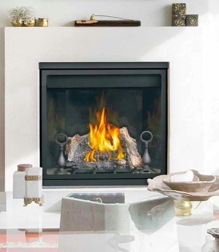 Napoleon Gas Fireplace Clean Face Hd35 Direct Vent 36 Modern Log
