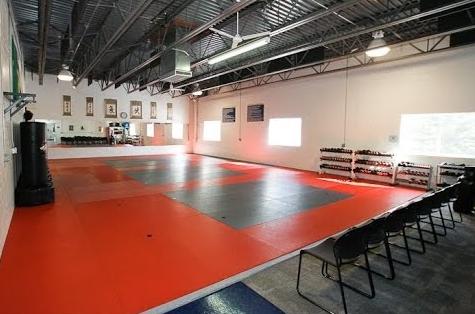 simple taekwondo studio design  home gym design dojo