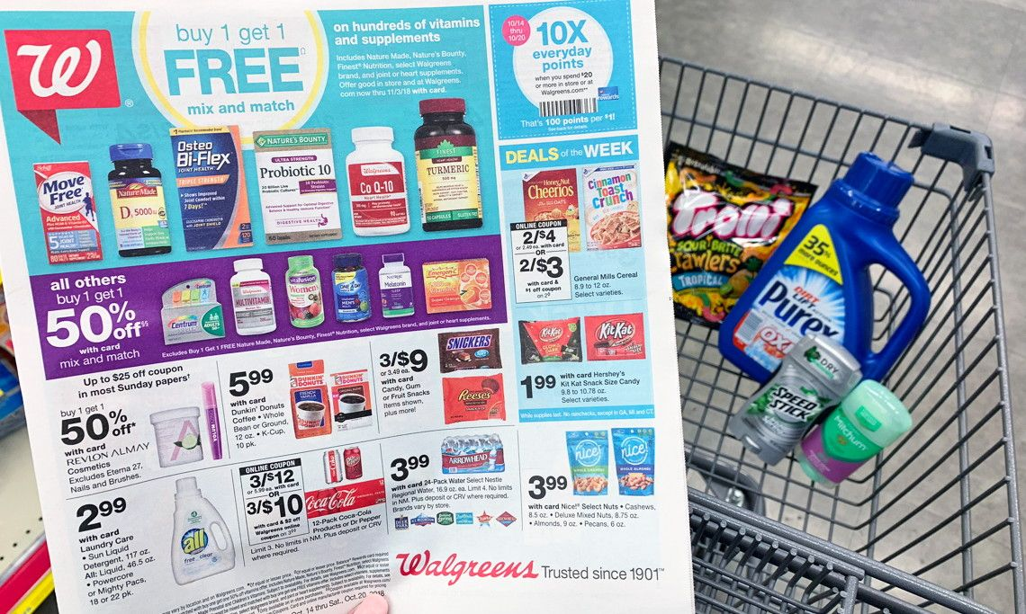 Walgreens Coupon Deals Week Of 10 14 Print Coupons Road Trip Road Trip Hacks