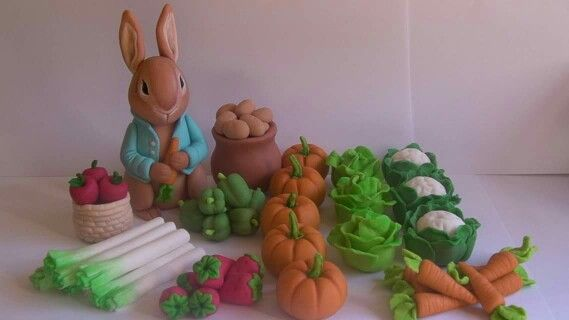 Peter Rabbit Toppers