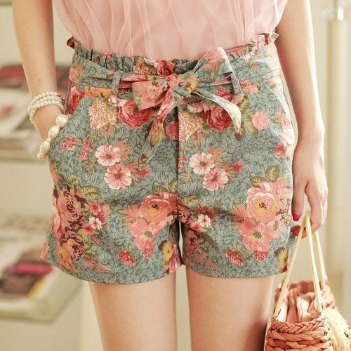 stilkart, romantisk Really cute shorts.