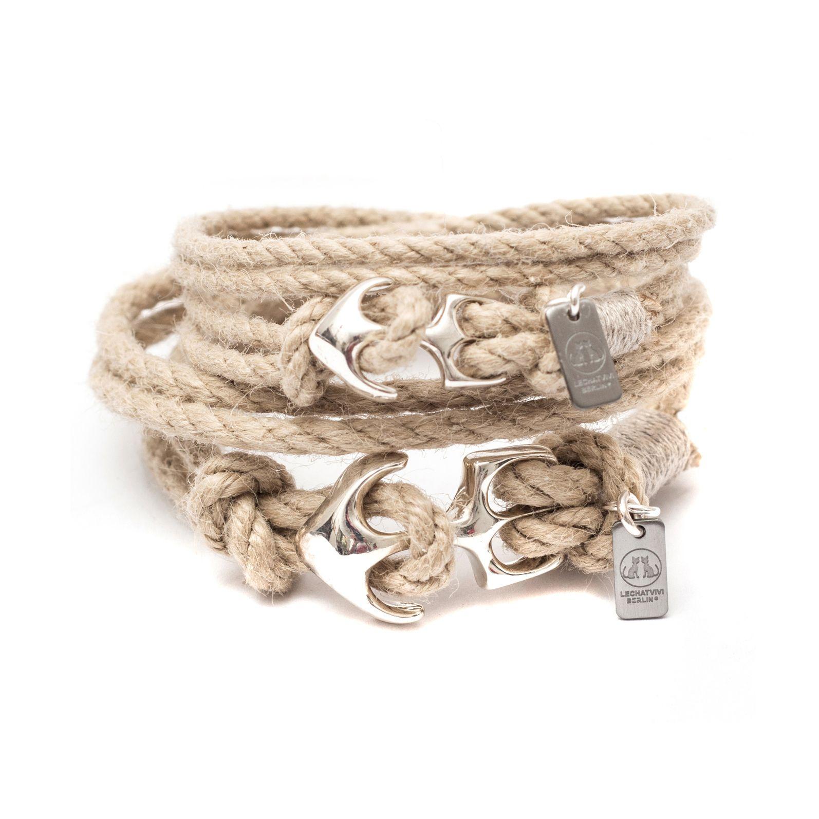 #lechatvivi #ancor #bracelet #ancorbracelet Ancor bracelet by LeChatVIVI BERLIN® with nice material www.lechatvivi-berlin.com