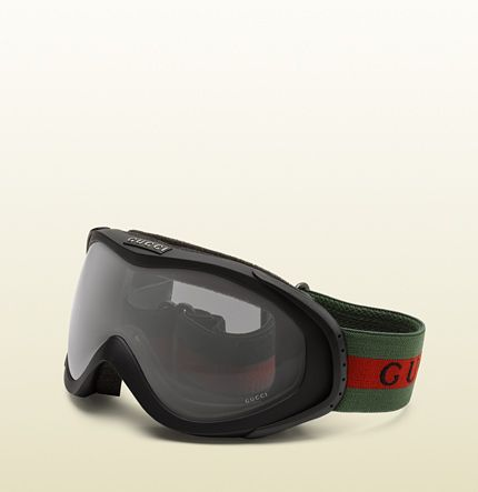 5b22e41e739 ski goggles with gucci logo and signature web detail. NEEED THESE ...