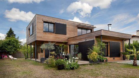 Maisons Durables  une maison bois de constructeur, mais - qu est ce qu une maison bioclimatique