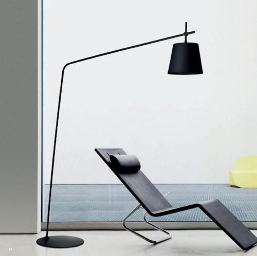 lampe sur pied contemporaine en m tal crany lirio lighting pinterest salons and lights. Black Bedroom Furniture Sets. Home Design Ideas