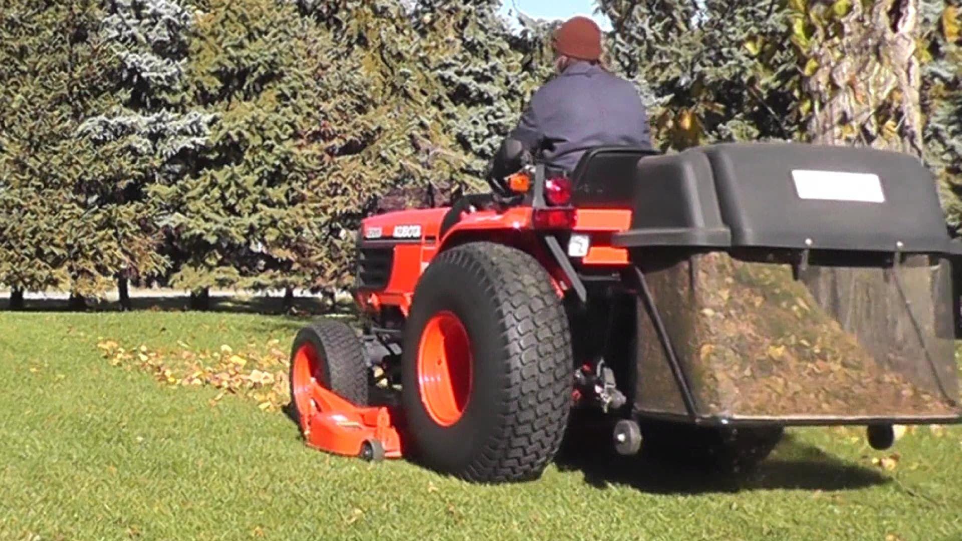 Grass Catcher Mods DIY FAST Install & Dump | gardening