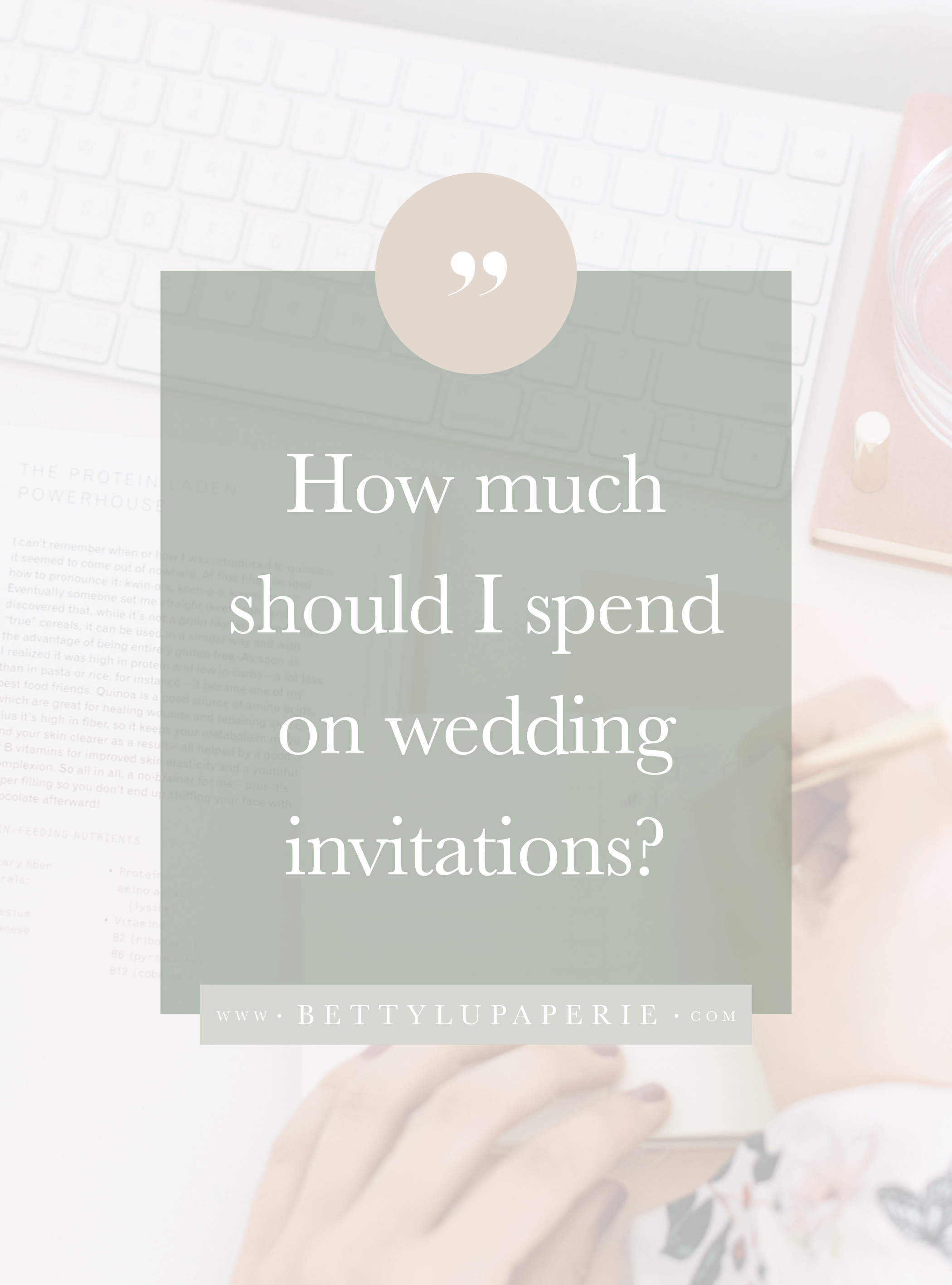 What Is The Average Cost Of Wedding Invitations In 2020 Wedding Invitation Etiquette Wedding Costs Wedding Invitations