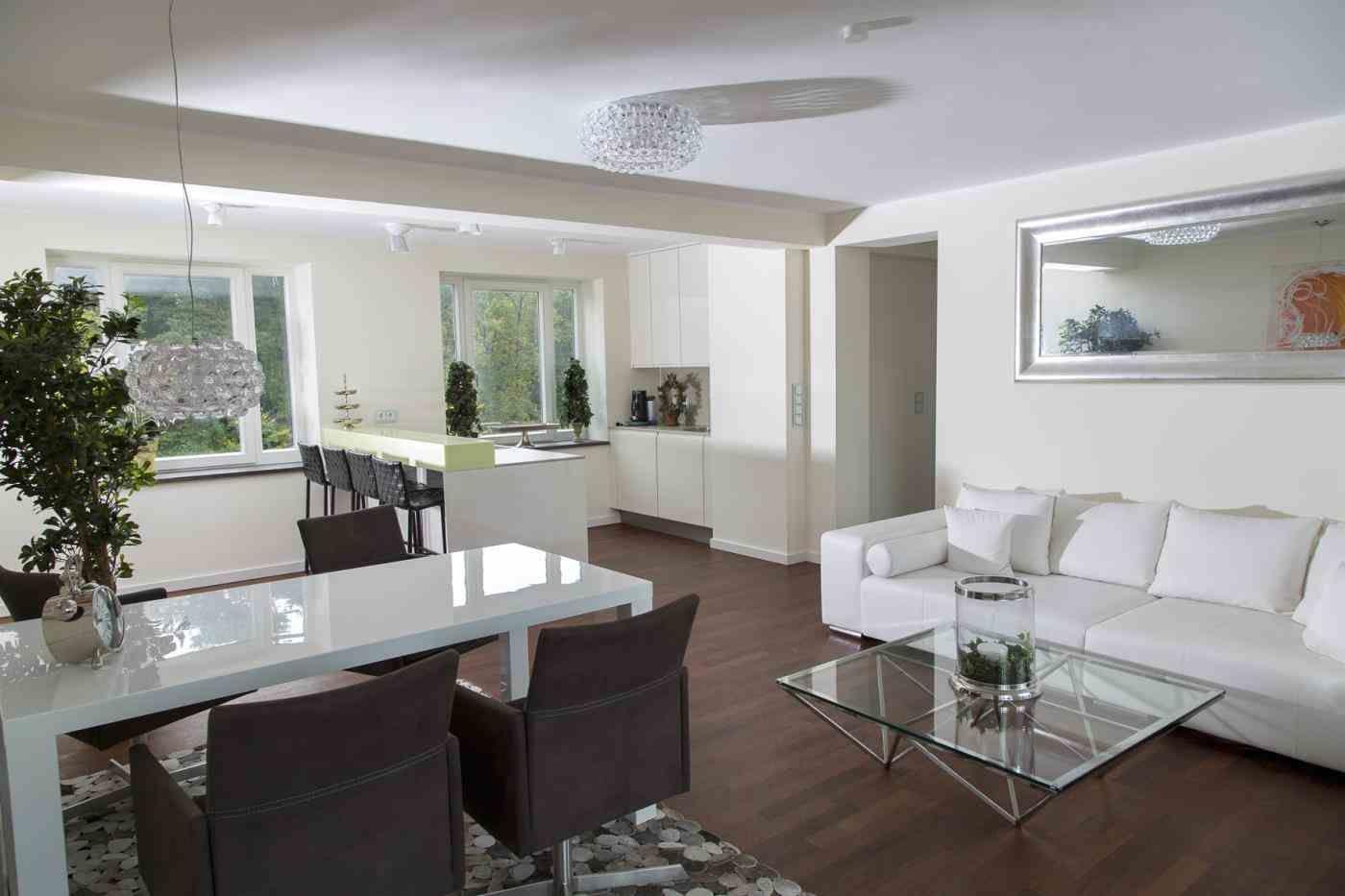 Bildergebnis für Wohn-Esszimmer einrichten mit Küche | Wohnzimmer ...