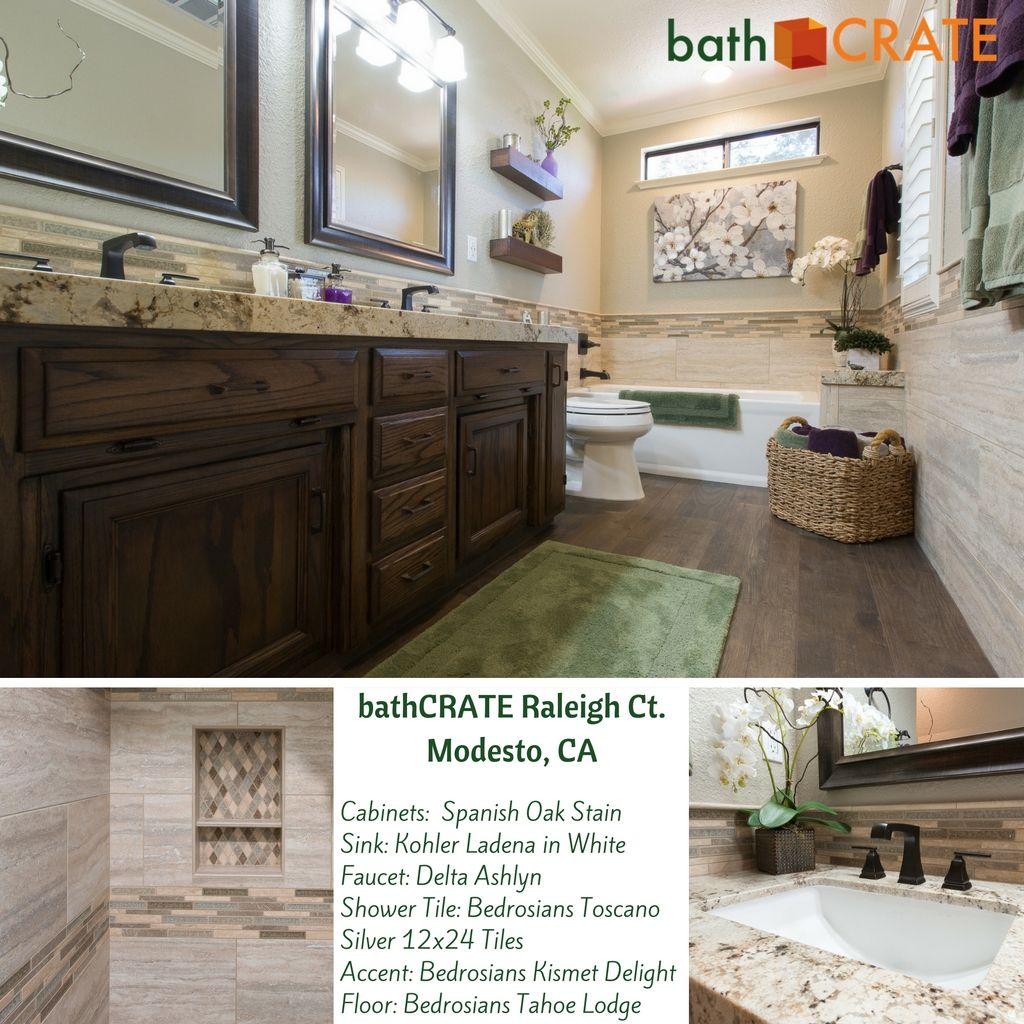 BathCRATE Raleigh Ct Complete Modesto CA This Stunning - Bathroom remodel modesto ca