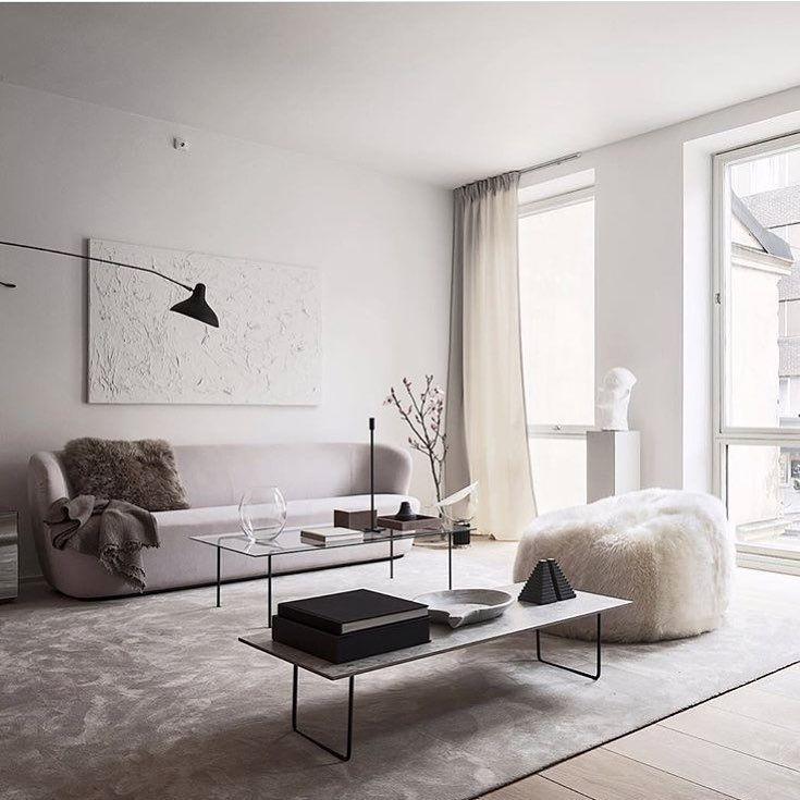 Gammal favorit ur aw arkivet upptack garna liknande objekt  alexanderwhitesthlm profil also minimalistic living room home nutrition stripped rh pinterest