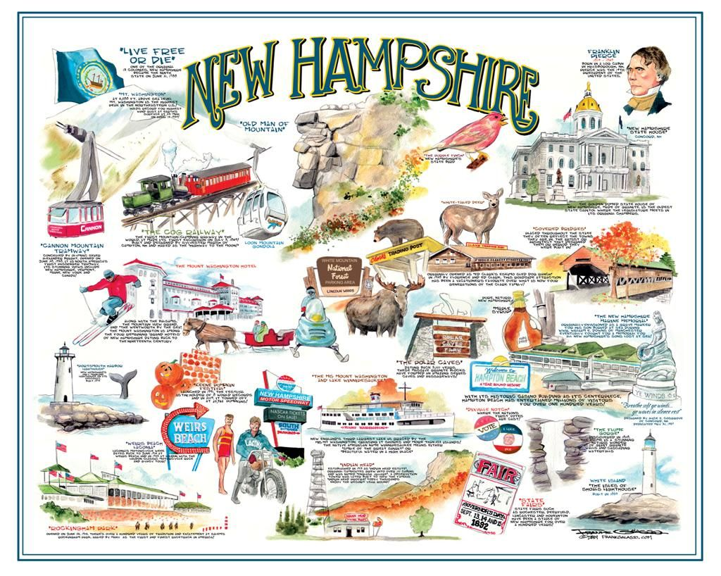 New Hampshire Icons