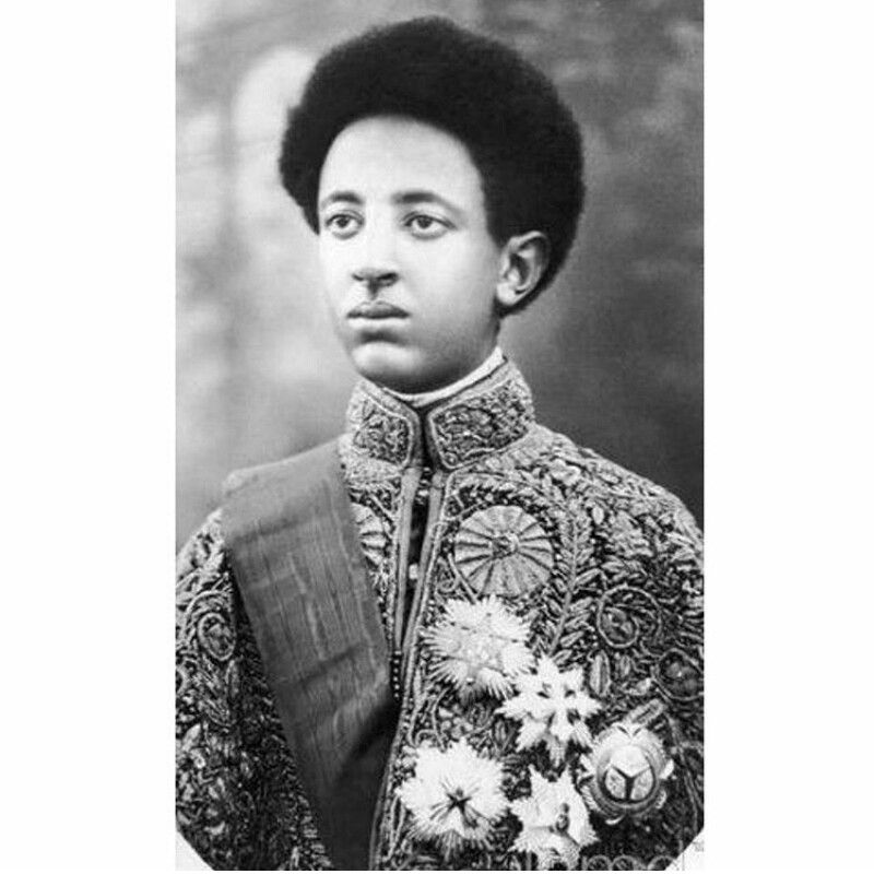 Prince Amha Selassie was the last reigning monarch of