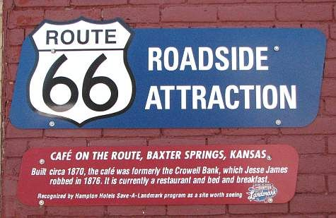 Cafe on the Route - Baxter Springs, Kansas