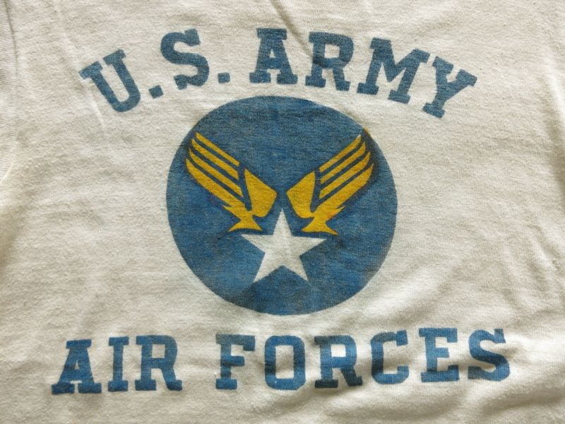 7dc81a8d 40's US ARMY AIR FORCE T-SHIRTS | FOREMOST 古着・ビンテージ アメリカから富山に、富山から全国へ  (フォアモースト)