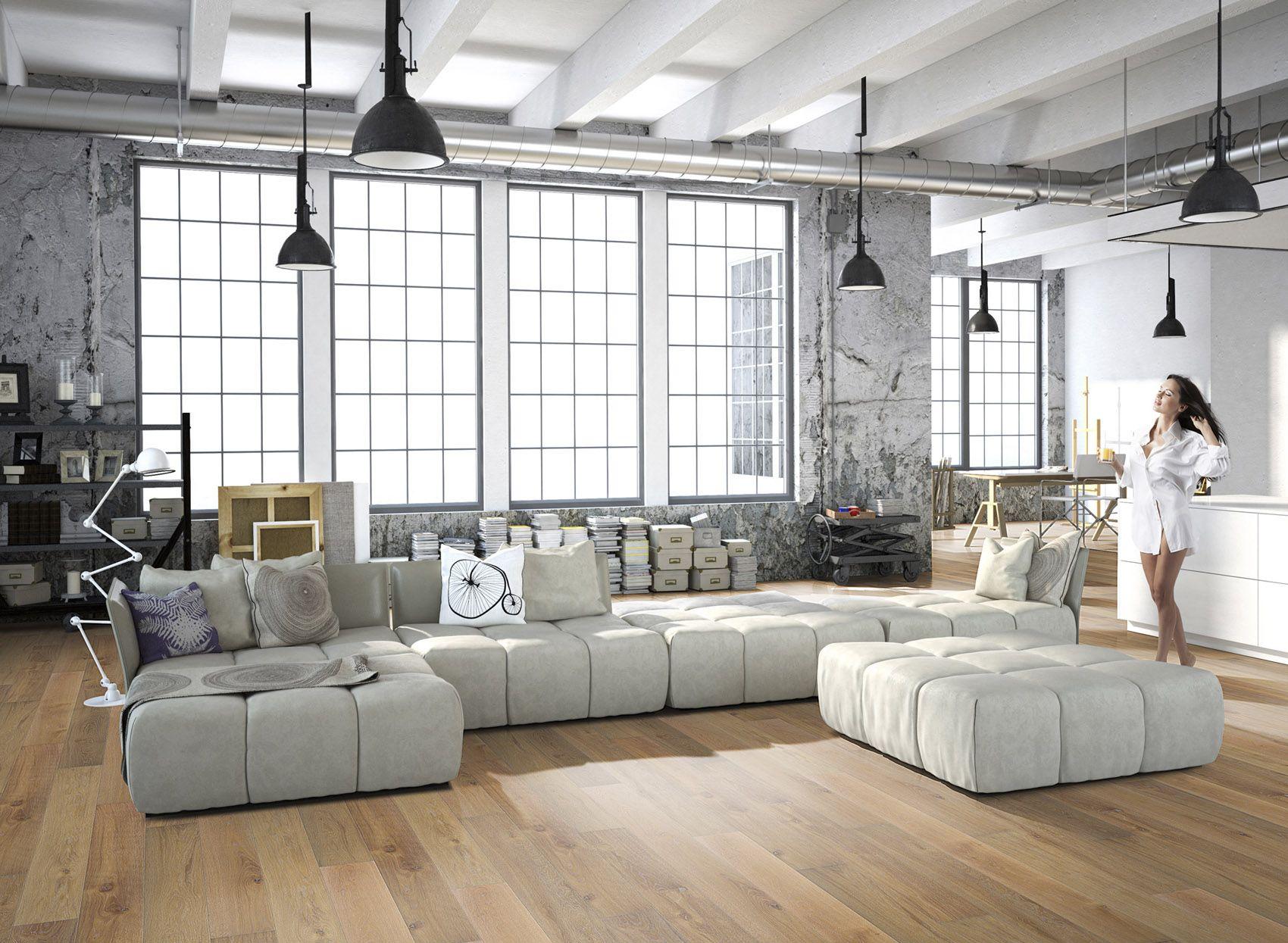 5g9026xl i-do parkett landhausdiele xl vital eiche vintage lebhaft ... - Wohnzimmer Ideen Eiche