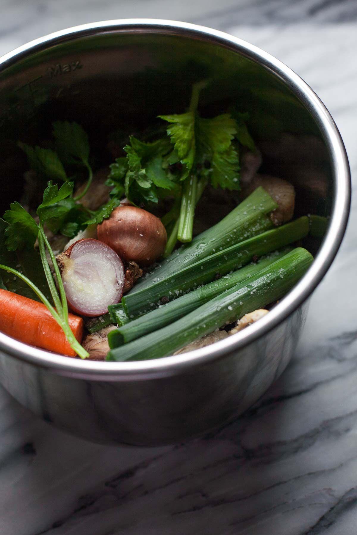 Instant Pot Chicken Stock Recipe Instant pot pressure