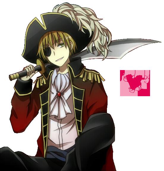 Manga Anime Pirates: Hetalia_England_render.png 552×576 Pixels