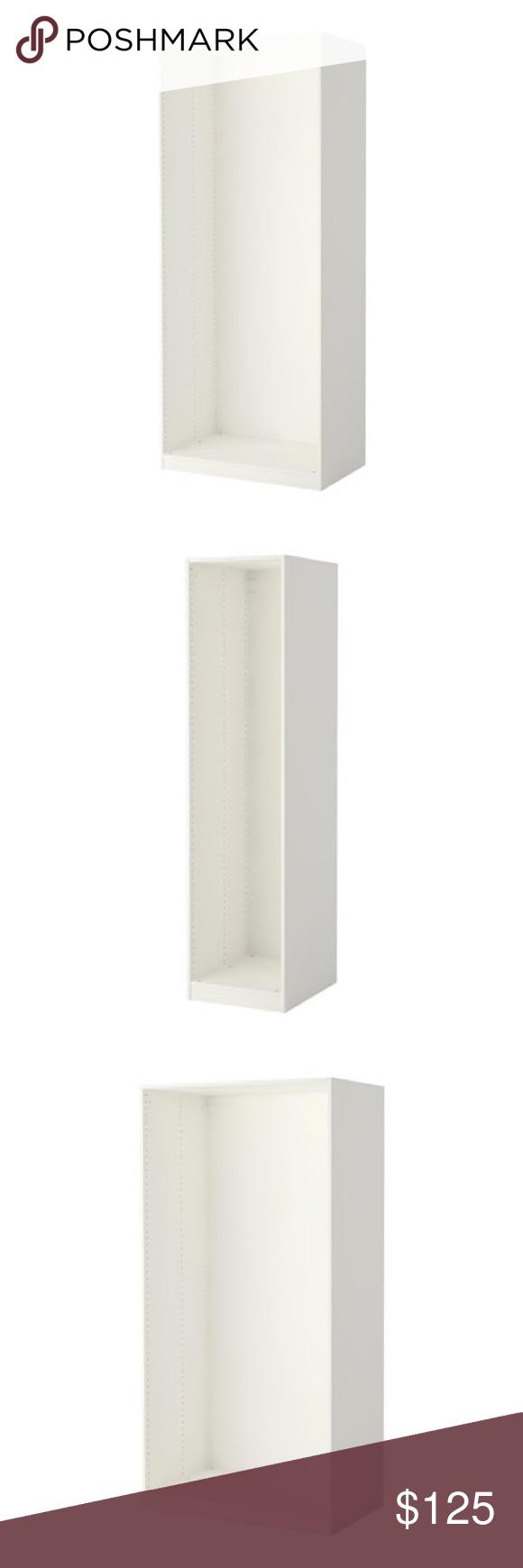 Wardrobe Beautiful white IKEA Pax wardrobe  Comes in 2 different