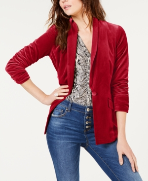 INC International Concepts INC Velvet Blazer, Created for