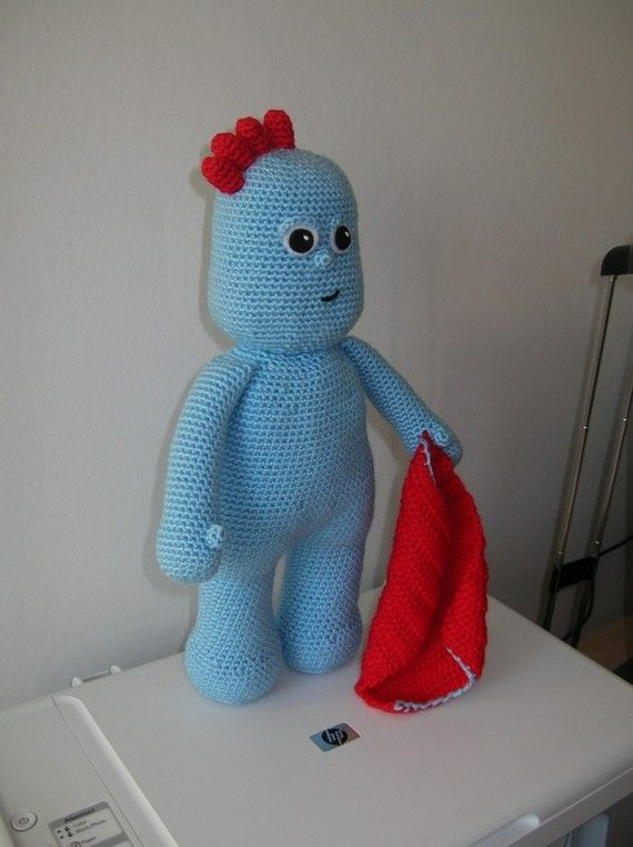 Iggle Piggle Zabawki Pinterest Crocheted Toys Crochet And