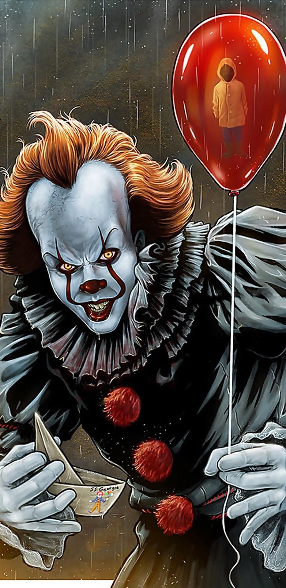 Pennywise Wallpaper Clown Horror Horror Movie Art Pennywise The Clown