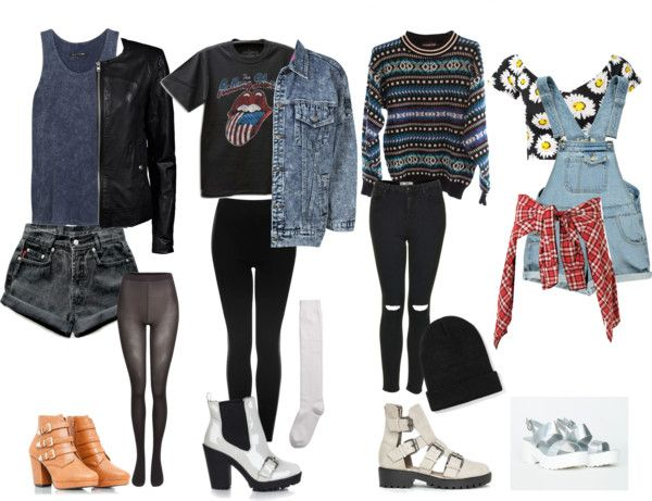c3e90fb723a0 Back To School Grunge Outfits featuring missguided sale shoes ...