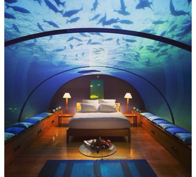 This Would Be A Really Cool Bedroom.