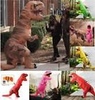 T-Rex Jurassic Park DINOSAUR Adult Costume TRex & Horse Riding Cobweb Halloween