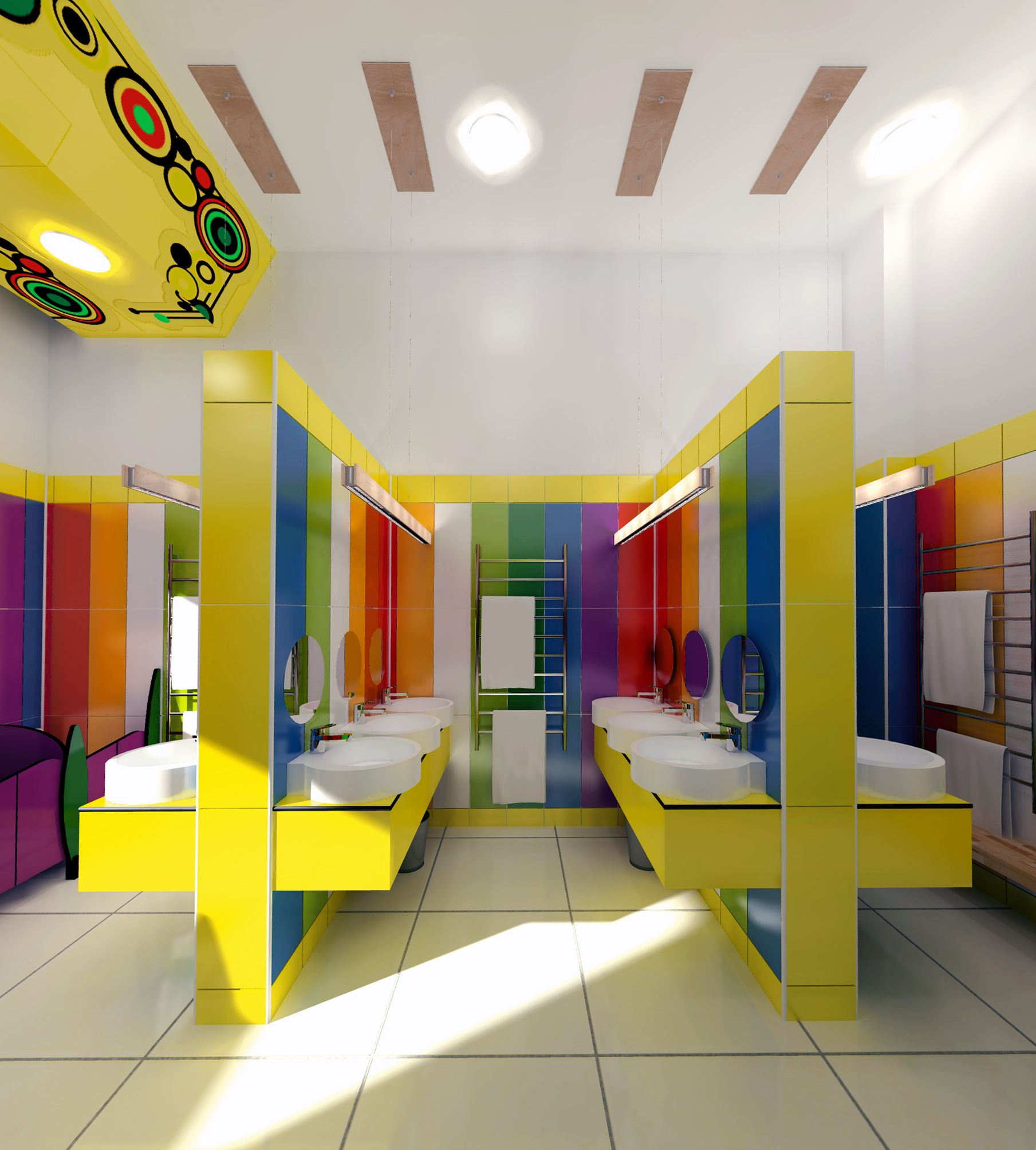 Kindergarten Bathroom Design