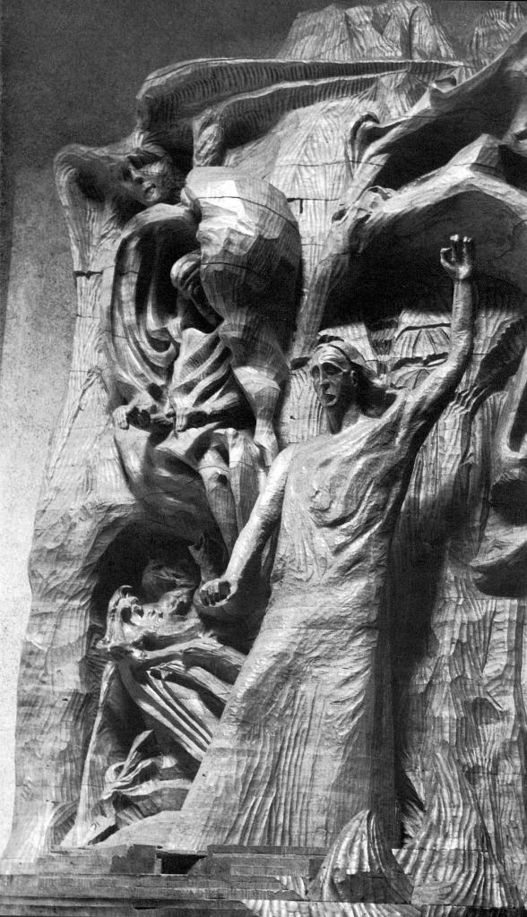 Sculpture by Rudolf Steiner 0013